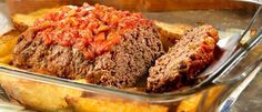 with Roasted Garlic Potatoes Meatloaf with Roasted Garlic Potatoes - Another great easy dinner from Campbell's.Meatloaf with Roasted Garlic Potatoes - Another great easy dinner from Campbell's. Meatloaf Recipes, Meat Recipes, Cooking Recipes, Hamburger Recipes, Meatball Recipes, Recipies, Campbells Soup Recipes, Garlic Roasted Potatoes, Garlic Bread