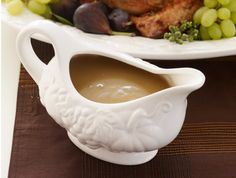 Homemade gravy doesn't have to be tricky, lumpy or time-consuming. This method combines flavorful pan drippings with reduced chicken stock to deliver rich and plentiful results.