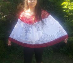 Canada poncho, pattern for purchase
