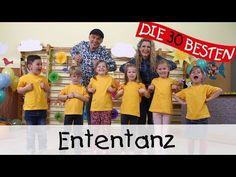 Ententanz (Dance little bird) - Singen, Tanzen und Bewegen || Kinderlieder - YouTube Zumba Kids, Action Songs, Kindergarten Songs, Ariana Grande, Youtube, Videos, Funny, Babies, Party
