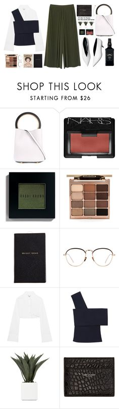 """""""The facts of life can sometimes make it hard to dream."""" by astoriachung ❤ liked on Polyvore featuring Marni, NARS Cosmetics, Bobbi Brown Cosmetics, Stila, Smythson, Linda Farrow, Off-White, Rosetta Getty, Yves Saint Laurent and Sophie Bille Brahe"""
