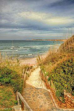 Beach at Conil de la Frontera, Andalucía_ Spain