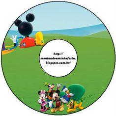 Kit para impressão A casa do Mickey