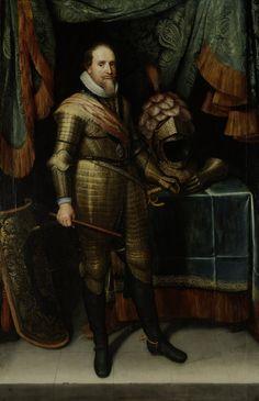 Maurice de Nassau, prince d'Orange (1613-1620, Rijksmuseum, Amsterdam) de Michiel Jansz. van Mierevelt (1567-1641)