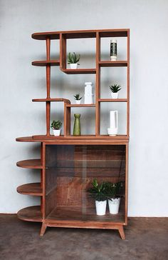 Mid century furniture--- man I would LOVE to use this as my bookcase!!!