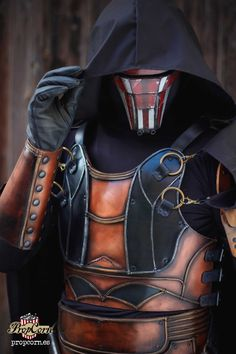 DARTH REVAN MASK Star Wars Mask Old Republic Role Playing Larp Costume & Cosplay 501st legion