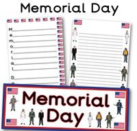 memorial day printable images