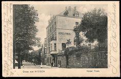 Hotel Theis 1910 - noch ohne Pavillon
