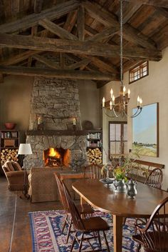 Love the ceiling!  Shilo Ranch - Architect Portfolio | Miller Architects