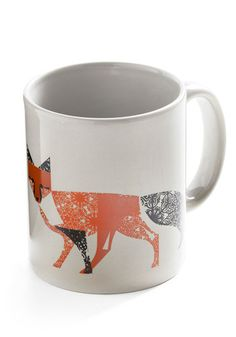 Fox mug - I think I'll have to get this!