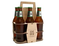 The Northwood Co - wooden 6 pack holder