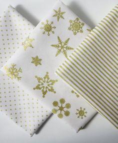 Gold Sparkle Cotton Fat Quarter Bundle Riley Blake Designs
