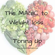 Sown with Strength Fitness + Nutrition: The MAGIC ingredient for Weightloss and Toning Up