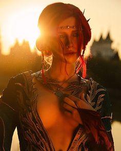 Triss Merigold  Photo by wonderful @milliganvick #trissmerigold #triss #witchercosplay #cosplay #wiedźmin3 #witcher #russiancosplay #yennefer #ciri #geralt #geek #ведьмак #триссмеригольд #трисс. Taken by likeassassin on Saturday 30. December 2017
