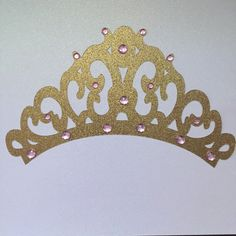 Big Sparkly Princess crown by Fancymycupcake on Etsy