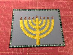 Hanukkah postcard tutorial