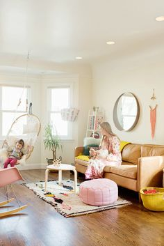 Chloé Fleury's Colorful Kid-Friendly Home | Glitter Guide