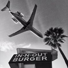 Los Angeles #lax #innout #blackandwhite