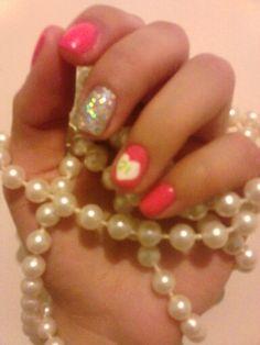 21st Birthday Nails. Courtesy of JJ's Salon.