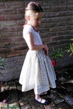 LENVIRÁG-szoknya (Barnabe) - Meska.hu Lace Skirt, Skirts, Fashion, Moda, Fashion Styles, Skirt, Fashion Illustrations, Gowns, Skirt Outfits