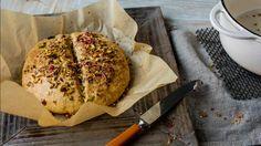 Saftige scones med rosiner og nøtter