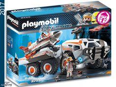 PLAYMOBIL 9255 Spy Team Battle Truck