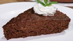 Ζουμερή σοκολατόπιτα με 3 υλικά χωρίς ψήσιμο και αλεύρι No Sugar Desserts, Food, Sugar Free Desserts, Essen, Meals, Yemek, Eten