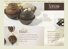 Chocolate Website Design