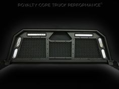 Royalty Core's Ground-Breaking Headache Racks replicate the image of their incredible custom grilles for the ultimate appearance. Royalty Core's Stainless Super Woven Mesh diamond design Truck Flatbeds, Truck Mods, Dually Trucks, Rc Trucks, Diesel Trucks, Custom Trucks, Cool Trucks, Chevy Trucks, Pickup Trucks