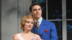 Christy Altomare as Anastasia and Derek Klena as Dimitry. | Production: Original 2016 (May/June) - Hartford, Connecticut.
