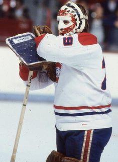 Dryden, Ken - Hockey - Exploraré Hockey Goalie, Ice Hockey, Montreal Canadiens, Ken Dryden, Goalie Mask, Cool Masks, Nfl Fans, Hockey Cards, Toronto Maple Leafs