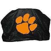 Seasonal Designs - 59 in. NCAA Auburn Grill Cover - Heavy duty, durable, and weather resistant, this reinforced vinyl cover with flannel backing and a drawstring protects your grill to extend its life. Fits most gas grills. Clemson Tigers, Grill Logo, Bbq, Gas Grill Covers, Memory Foam Mattress Topper, Grill Accessories, Vinyl Cover, Fan Gear, Design Model