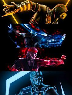 Mortal Kombat 8, Mortal Kombat Tattoo, Mortal Kombat X Scorpion, Mortal Kombat X Wallpapers, Claude Van Damme, Art Psychology, Ninja Art, Maori Tattoo Designs, 8bit Art