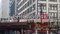 Ultra HD 4K Chicago Travel USA Tourism L Train Vehicles City Transporation UHD Video Stock Footage - http://quick.pw/xfa #travel #tour #resort #holiday #travelfoodfair #vacation