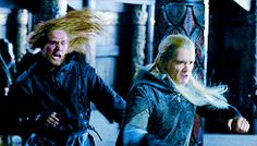 The Lord of the Rings + Legolas' funny faces