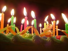 Birthday Cake With Two Candles Stock Footage Video 100 Royalty