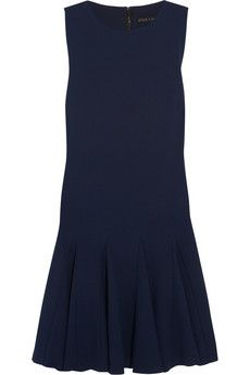 Alice   Olivia Chantil crepe dress | THE OUTNET
