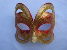 Gold and Rose Mask