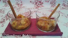 Comilonas Lights: Plátano con miel y canela