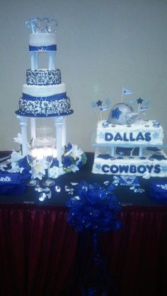 dallas cowboys themed wedding cake dallas cowboys wedding centerpieces our wedding 13318
