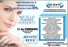 CURSO PARA ESTETICISTAS EN LA ESCUELA SUPERIOR DE ESTETICA INTERNACIONAL. MADRID