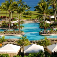 Ritz carlton, Maui  Family vacation here was absolutely awesome!