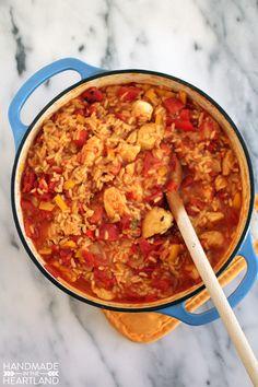 Arroz Con Pollo, One Pot Mexican Chicken & Rice Recipe #YesYouCAN
