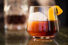 The Ritz-Carlton, Rancho Mirage makes its #9 Cask Conditioned Negroni 14 with three different gins, amaro & vermouths aged in oak; garnish with an orange peel. Cheers!