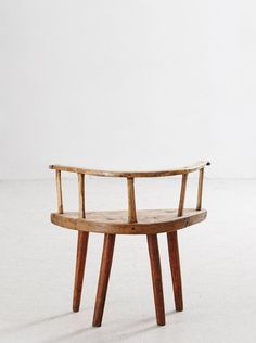Primitive wooden chair from Dalarna, Sweden. Swedish folk furniture, circa, 1700. Sold By 1stdibs.