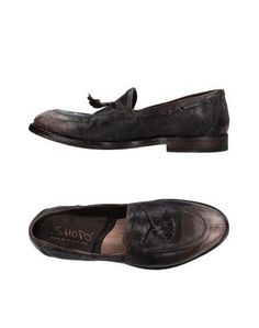 SHOTO Men's Loafer Dark brown 10.5 US