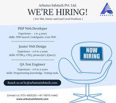 Mobile Application Development, Web Development, Hiring Poster, Sales Girl, Web Design, House Design, Indore, Resume