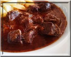 Czech Recipes, Food And Drink, Beef, Cooking, Health, Treats, Halloween, One Pot Dinners, Recipes