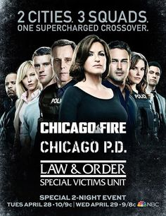 Chicago Fire - Chicago PD - SVU Crossover Event. One of the best Crossover events ever!!!! Love all three of these shows!