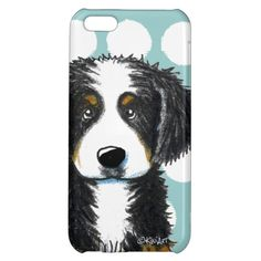 Bernese Mountain Dog iPhone 5C Case